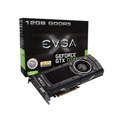 EVGA Nvidia GeForce GTX TITAN X SuperClock 12GB 384Bit GDDR5