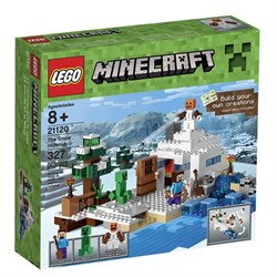 LEGO Minecraft 21120 the Snow Hideout Building Kit