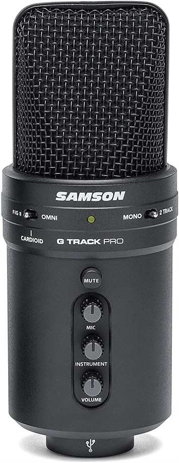Samson G-Track Pro Professional USB Condenser Microphone